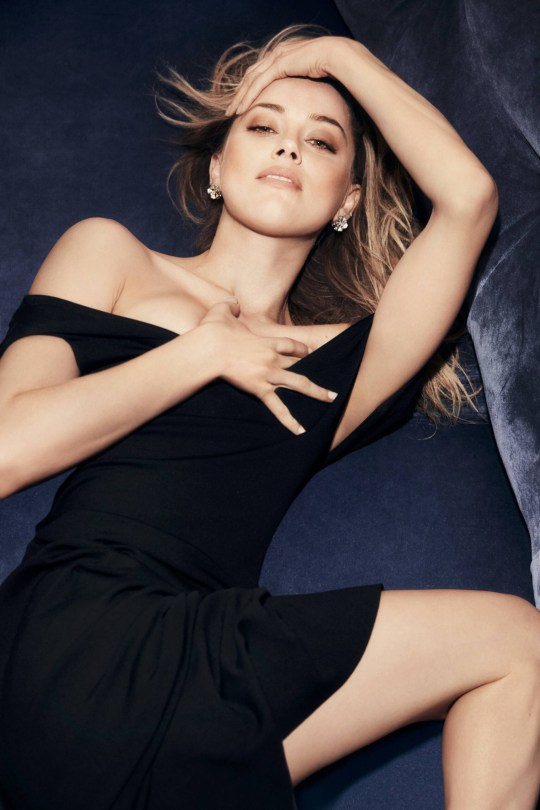 Amber Heard Sexy Photoshoot
