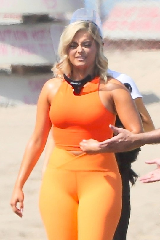 Bebe Rexha In Tight Leggings
