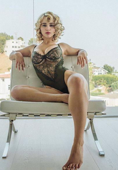 Caylee Cowan Sexy Lingerie