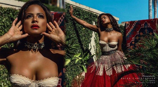 Christina Milian – Beautiful Boobs in Modeliste Magazine Photoshoot (September 2020)