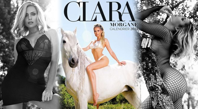 Clara Morgane – Beautiful Body in Sexy Photoshoot for 2021 Calendar