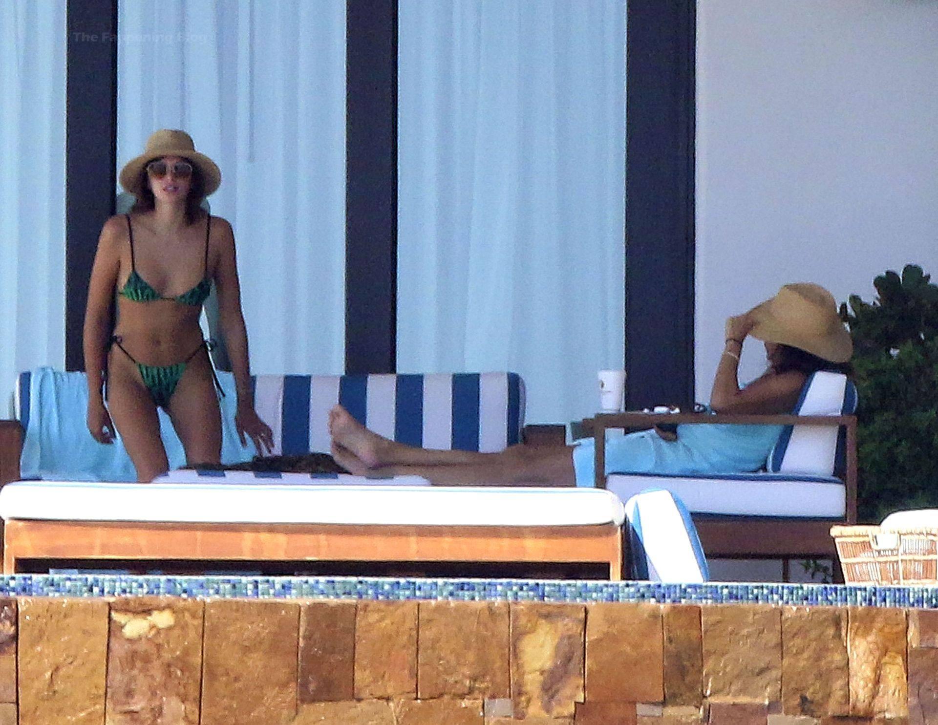 Kaia Gerber In Tiny Bikini
