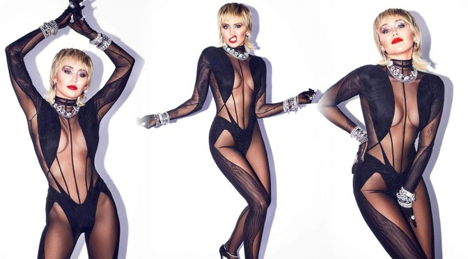 Miley Cyrus – Hot Body in Sexy Bodystocking
