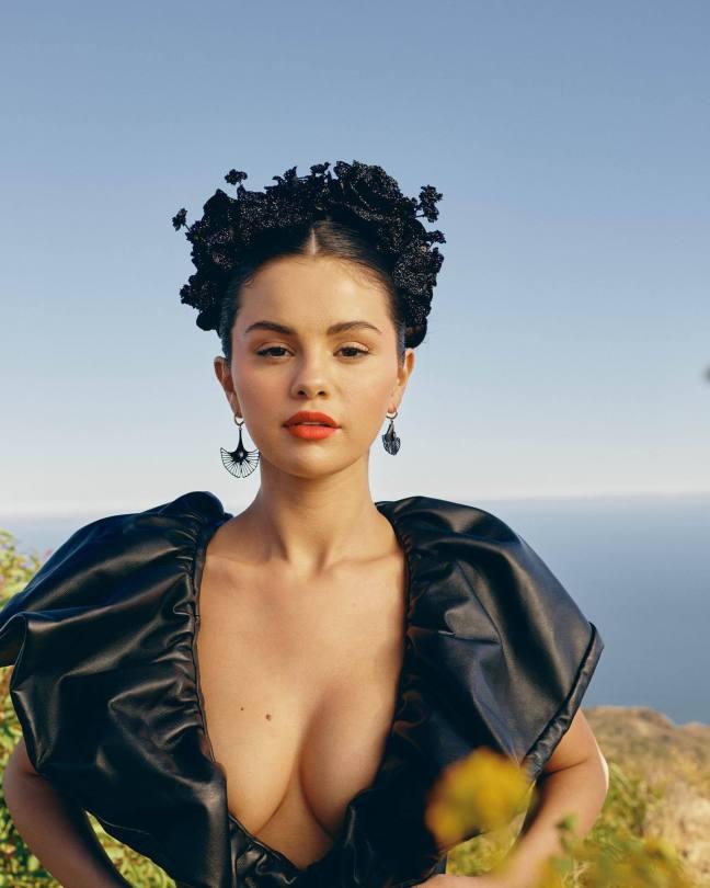 Selena Gomez Allure Photoshoot