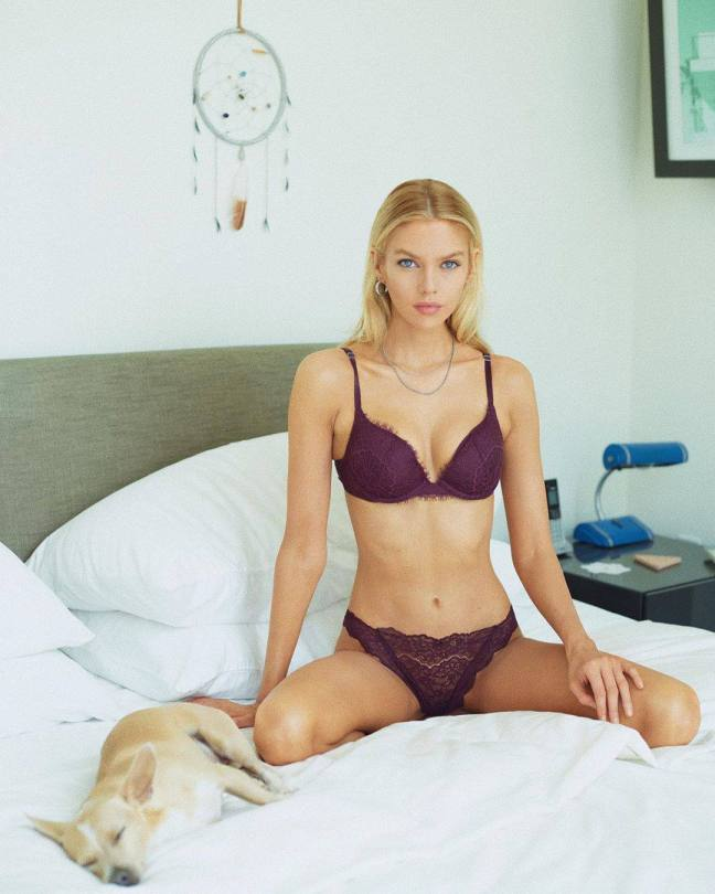 Stella Maxwell Hot Lingerie