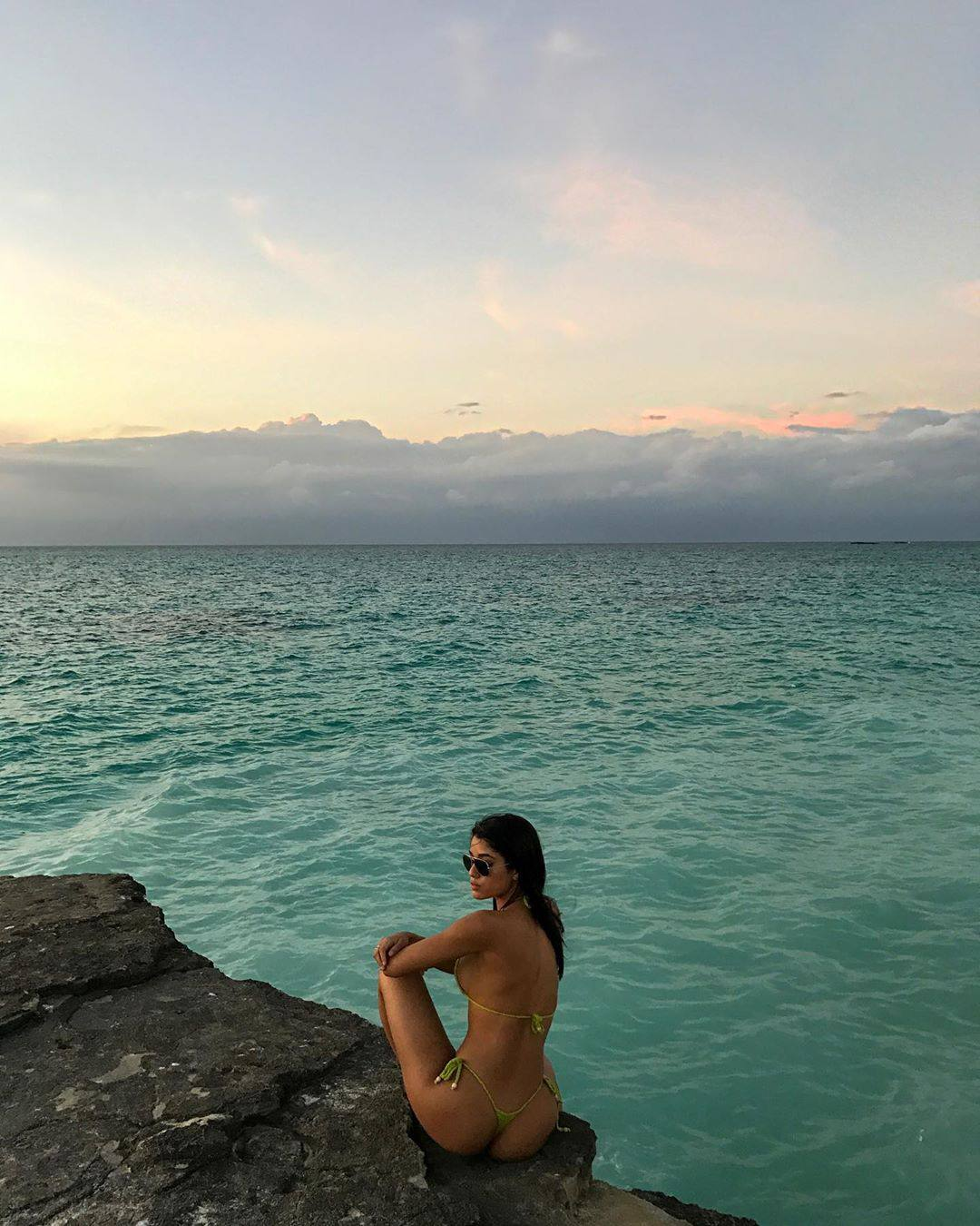 Yovanna Ventura In Thong Bikini