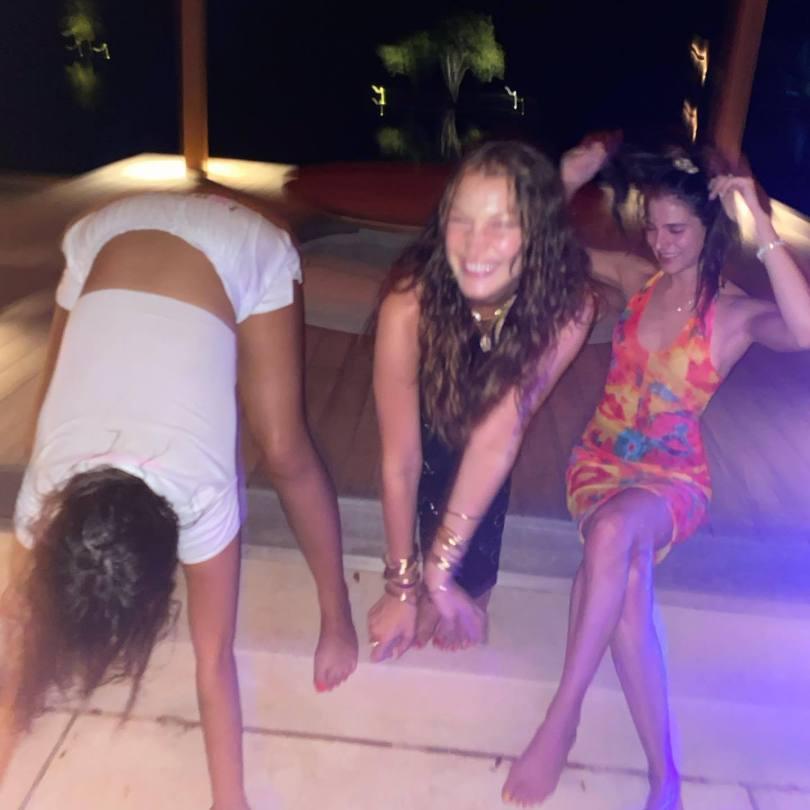 Bella Hadid Sexy Birthday Party