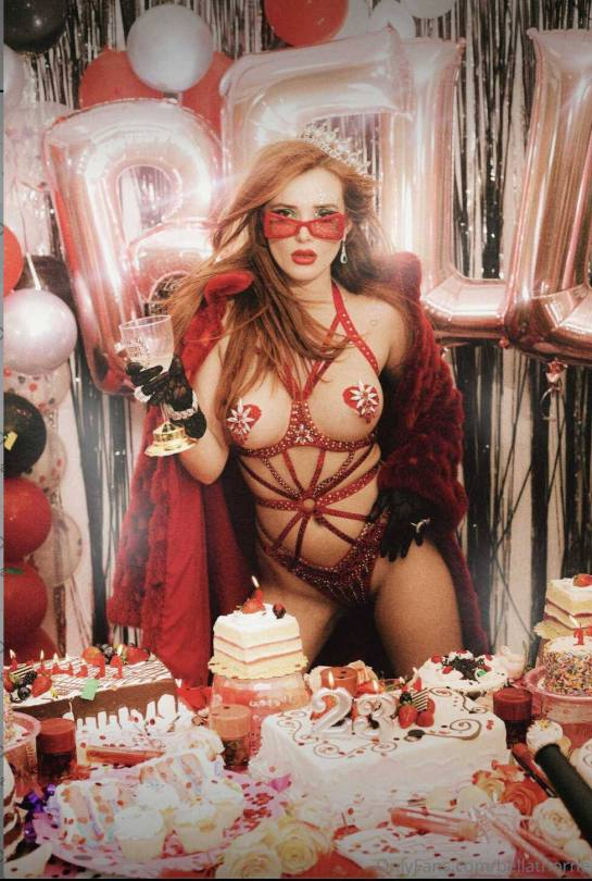 Bella Thorne Pasties Over Nipples