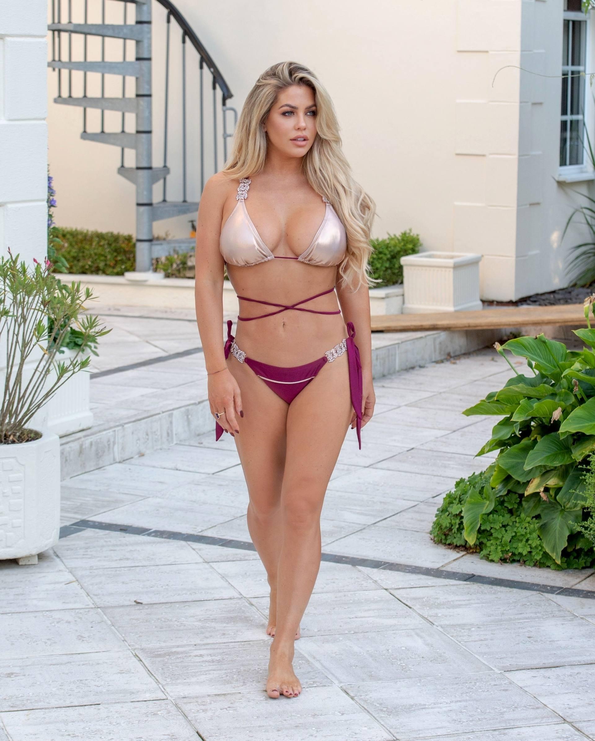 Bianca Gascoigne Beautiful In Bikini