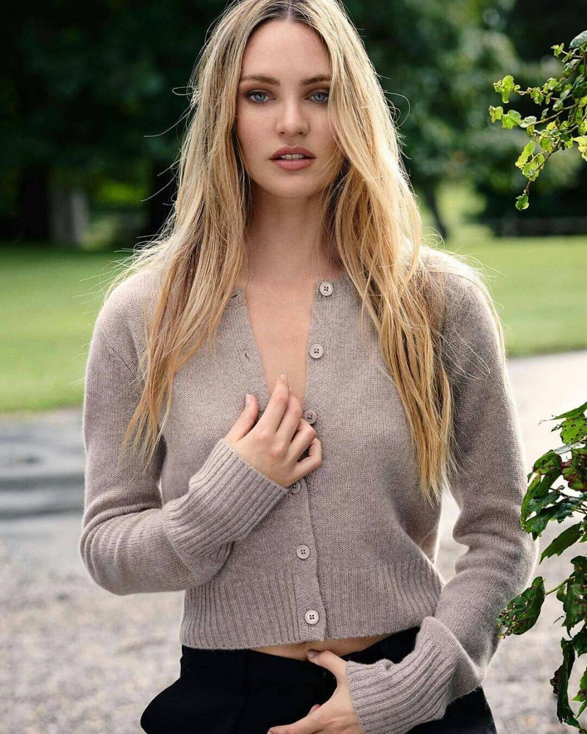 Candice Swanepoel - Beautiful in Naked Cashmere Fall 2020 Photoshoot   Hot Celebs Home