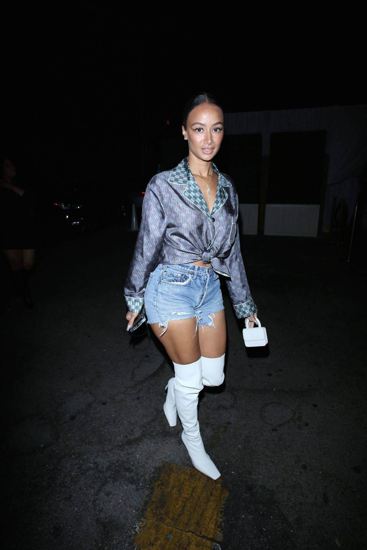 Draya Michele Sexy In Boots