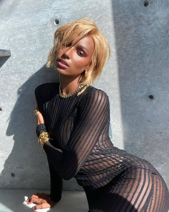 Jasmine Tookes Beautiful Blonde