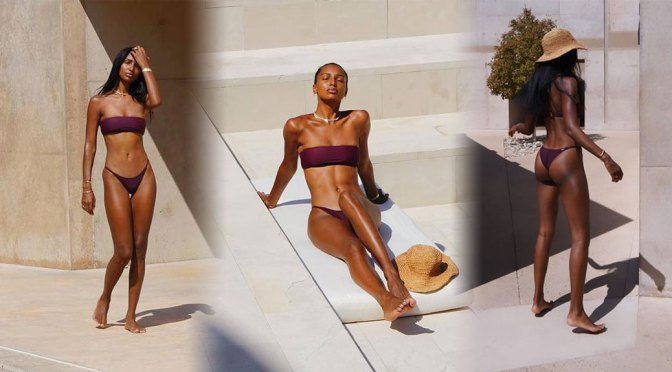 Jasmine Tookes Sexy Ass In Bikini
