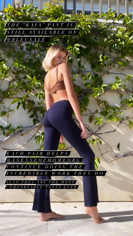 Kaia Gerber Perfect Booty