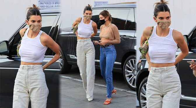 Kendall Jenner Braless Tits