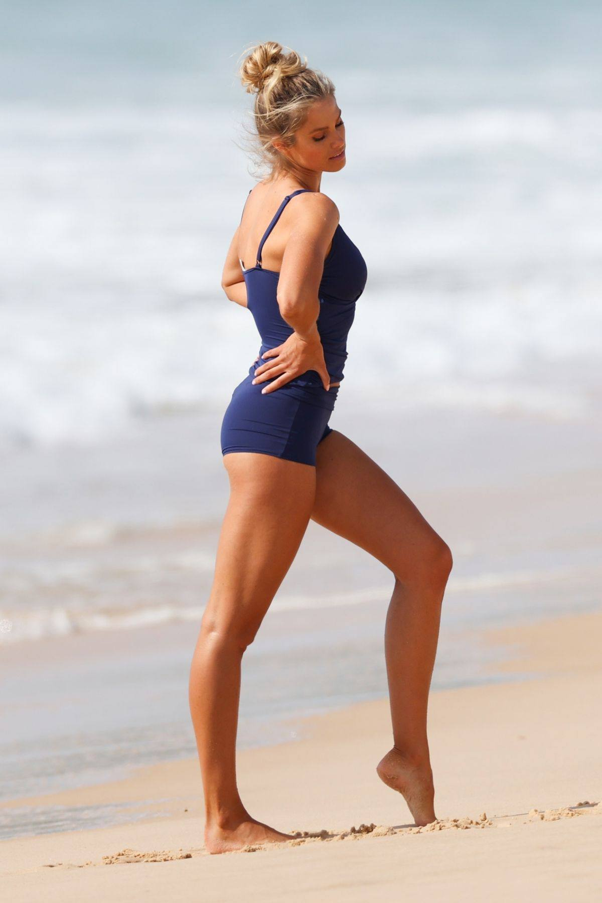 Natalie Roser Sexy On Beach