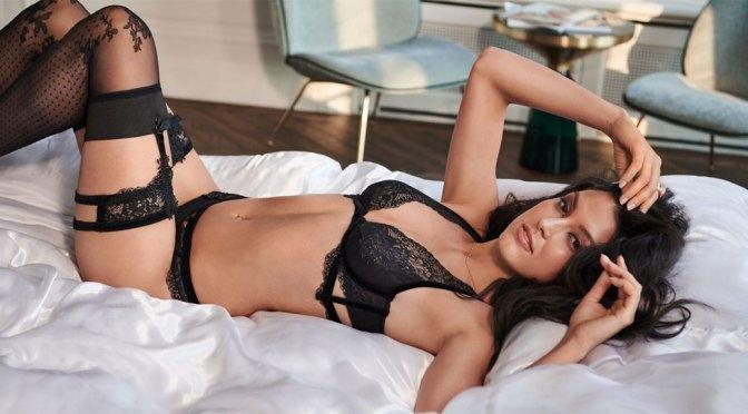 Rebecca Mir Sexy In Lingerie
