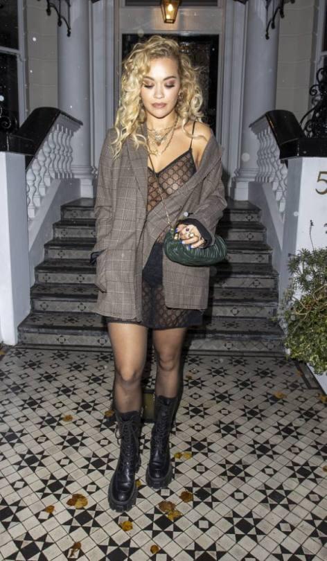 Rita Ora Exposed Boob And Nipple
