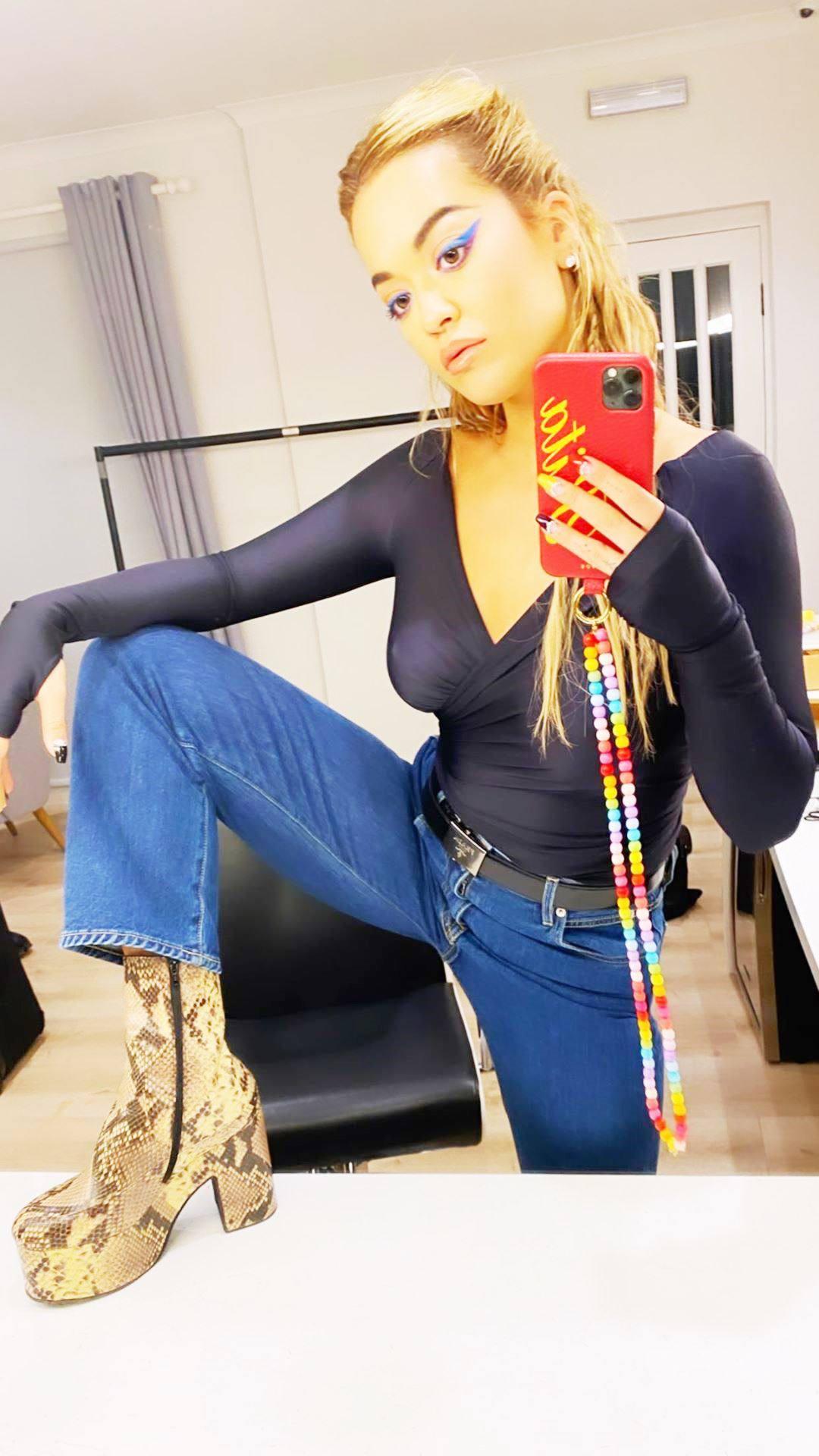 Rita Ora Hot Boobs
