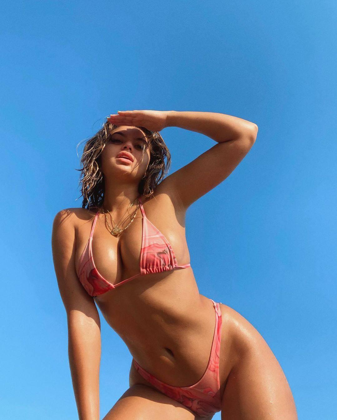 Sofia Jamora Tiny Bikini