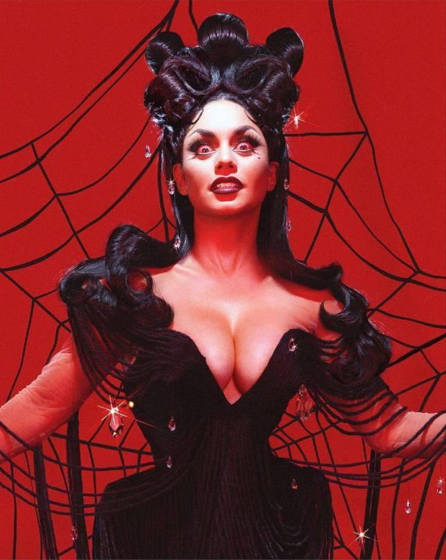 Vanessa Hudgens Hot Halloween Outfit