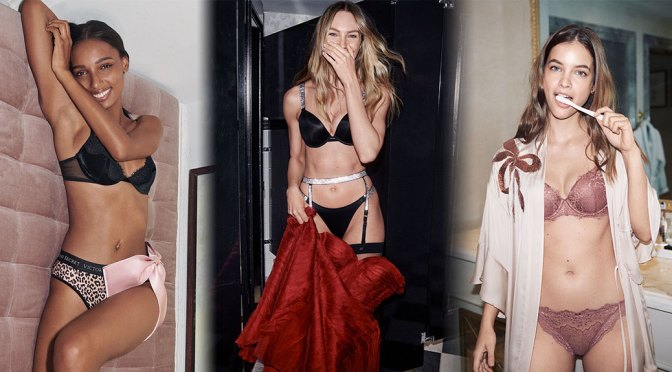 Barbara, Candice & Jasmine – Sexy Photoshoot for Victoria's Secret Holiday Campaign 2020