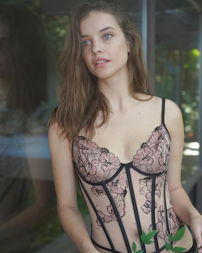 Barbara Palvin Beautiful In Lingerie