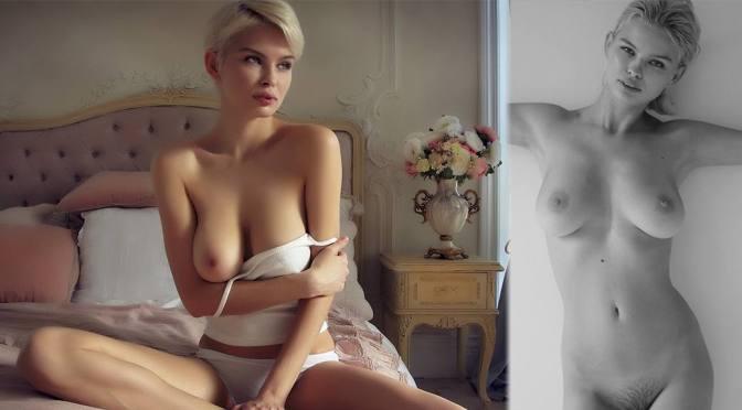 Julia Logacheva – Beautiful Breasts in Sexy Topless Photoshoot (NSFW)