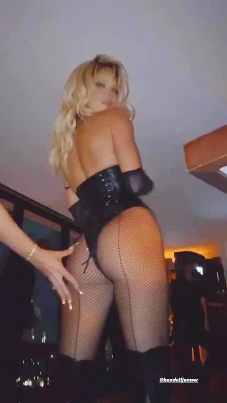 Kendall Jenner As Pamela Anderson