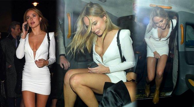Kimberley Garner Fantastic Body In Revealing Dress