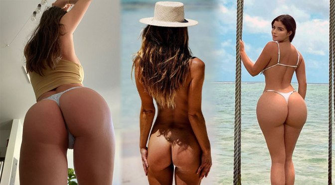 Nina Agdal's Naked Ass and Other Celebrities in a Weekly Instagram/Twitter Roundup