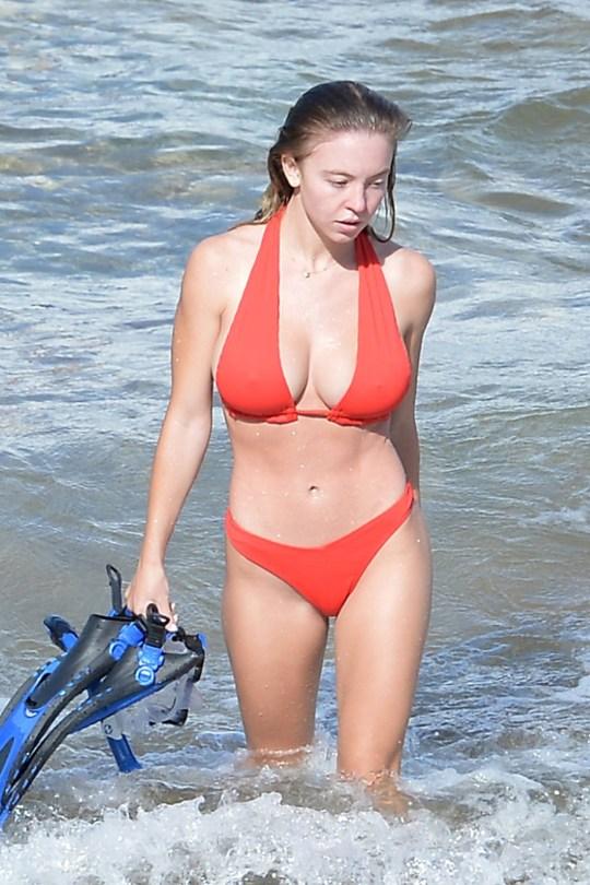 Sydney Sweeney Sexy Bikini
