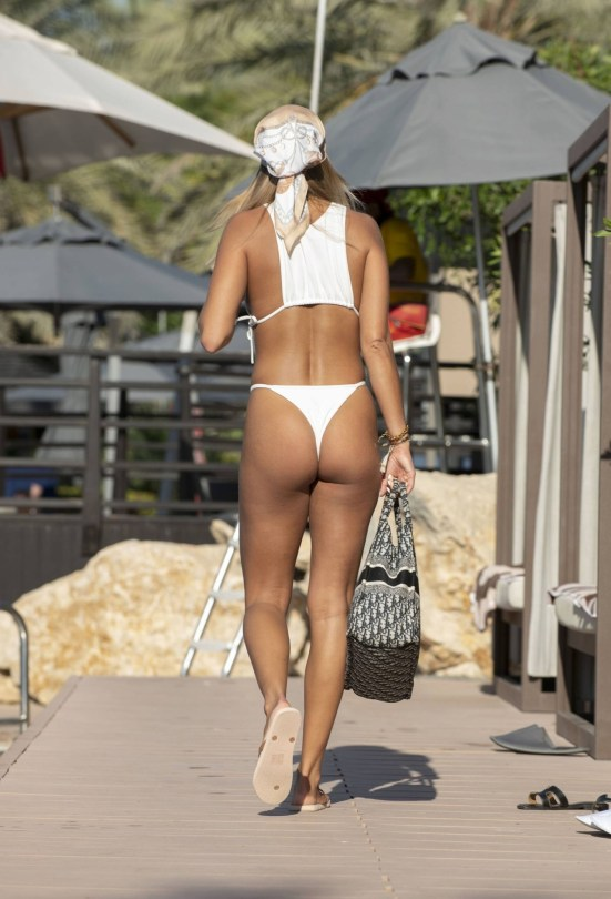 Arabella Chi Tiny Bikini