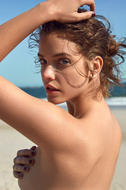 Barbara Palvin Beautiful Topless
