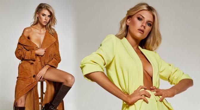 Charlotte McKinney – Beautiful Braless Boobs in Sexy Photoshoot for Elle Magazine (December 2020)