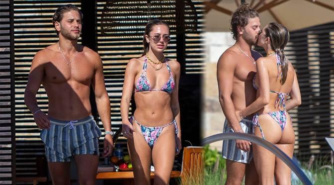 Delilah Belle Hamlin – Beautiful Ass in Bikini in Cabo San Lucas