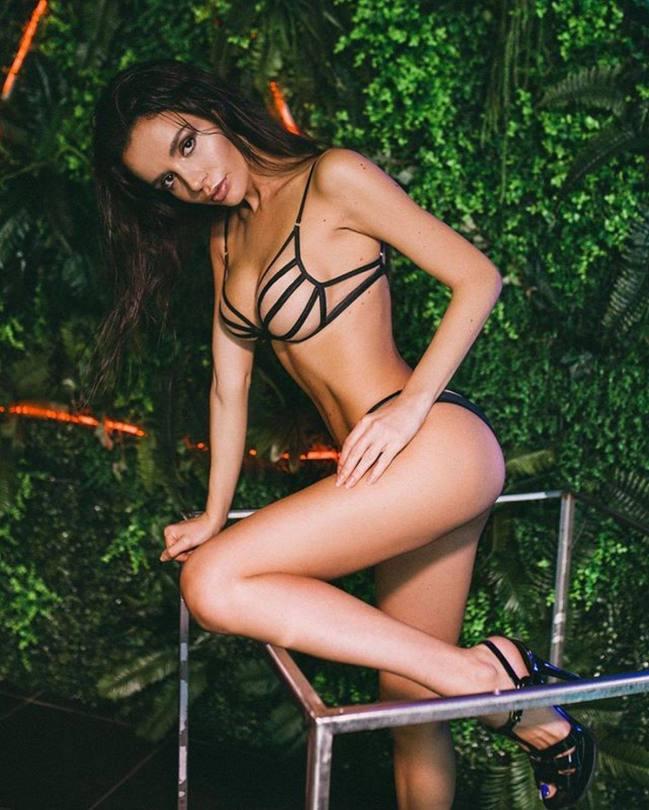 Ekaterina Zueva Sexy In Tiny Lingerie