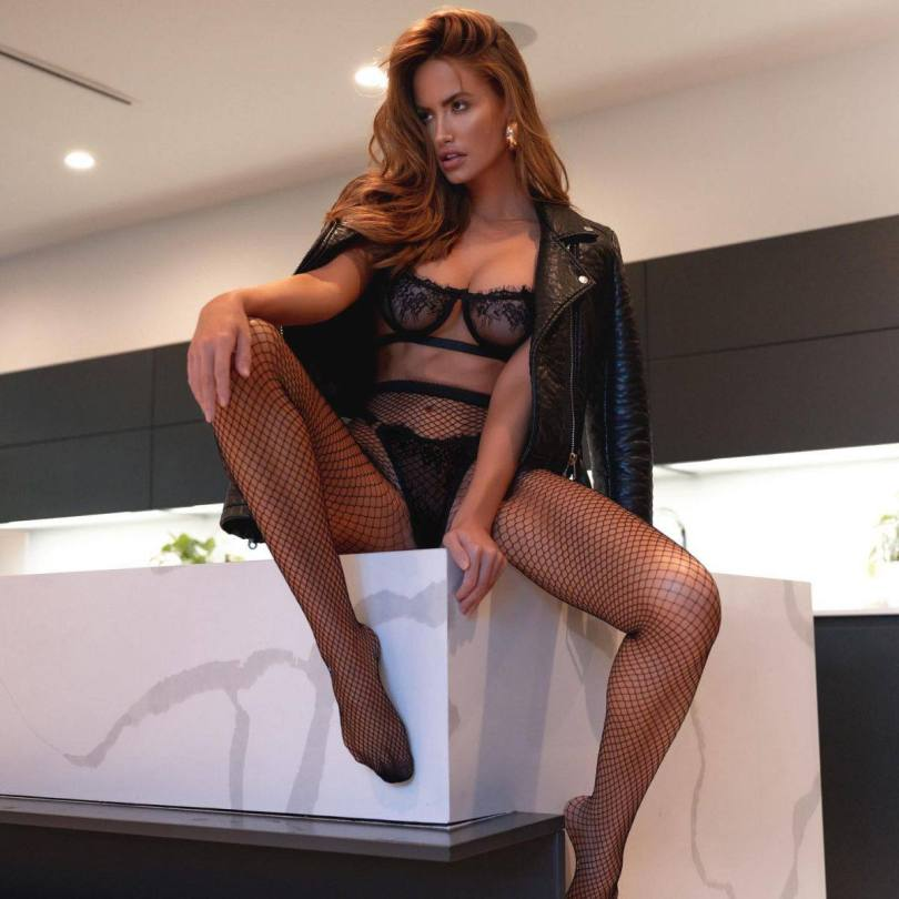 Haley Kalil Sexy Lingerie