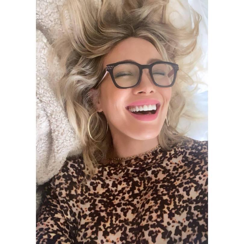 Hilary Duff Beautiful Selfie
