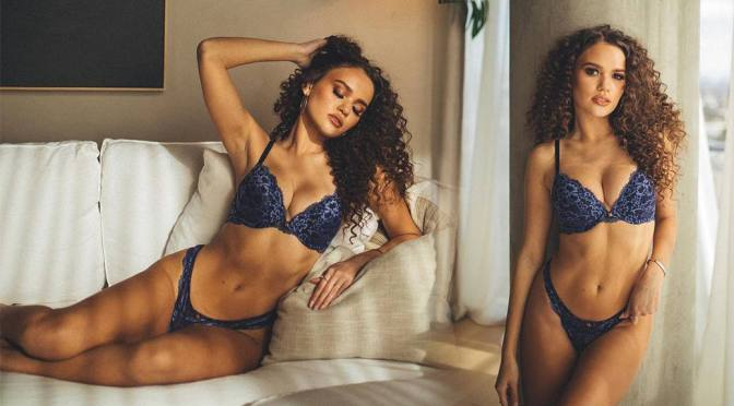 Madison Pettis – Beautiful Body in a Sexy Savage x Fenty lingerie