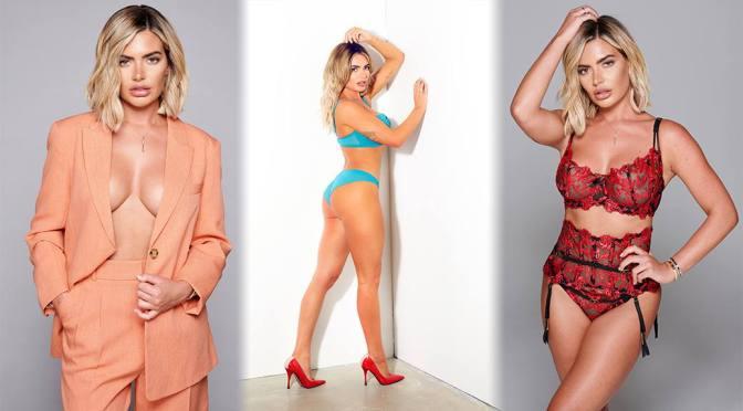 Megan Barton Hanson – Fantastic Boobs in a Sexy Lingerie