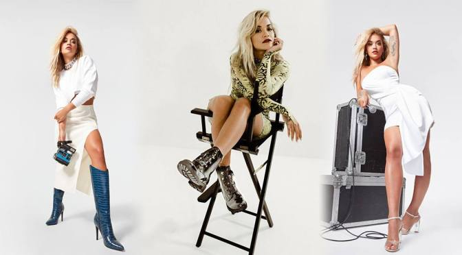 Rita Ora – Sexy Legs in a Beautiful Photoshoot for ShoeDazzle