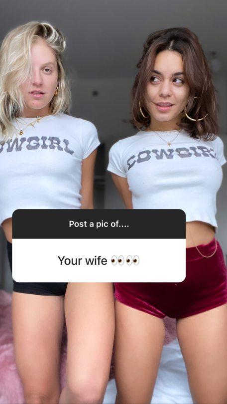 Vanessa Hudgens In Hot Pants