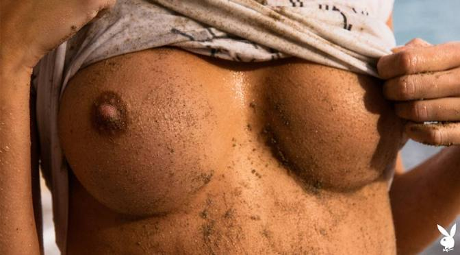 """Alberte Valentine – Sexy Body in a Beautiful """"Sand Secrets"""" Naked Photoshoot (NSFW)"""