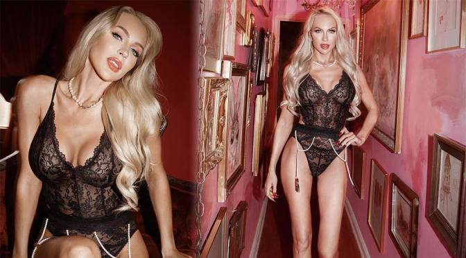 Christine Quinn – Sexy Body in Savage X Fenty Lingerie Photoshoot