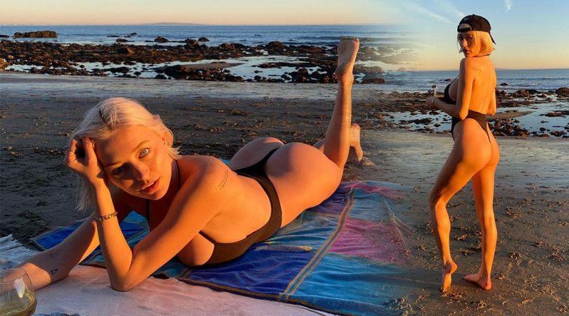Caroline Vreeland Hot Ass In Thong Swimsuit