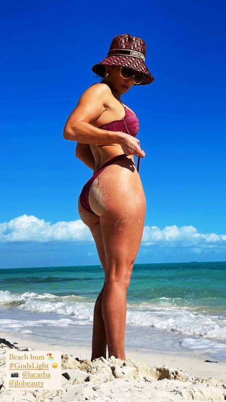 Jennifer Lopez Big Ass On Beach