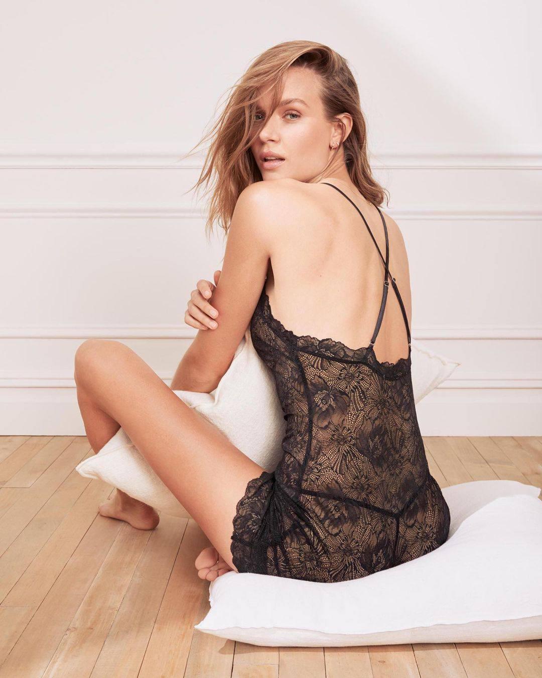 Josephine Skriver Sexy Lingerie