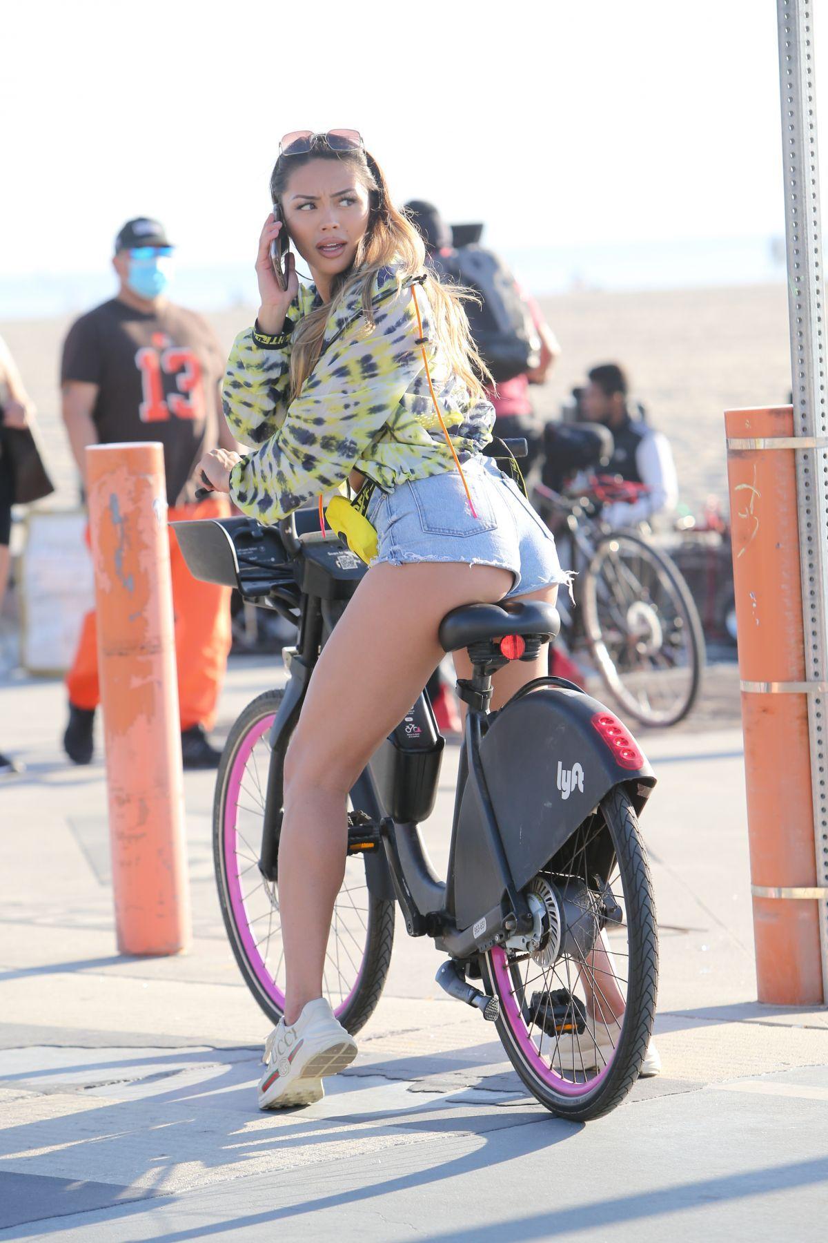 Montana Yao Leggy In Denim Shorts
