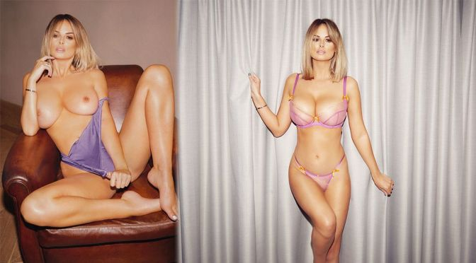 Rhian Sugden – Fantastic Tits in a Official 2021 Calendar Topless Photoshoot (NSFW)